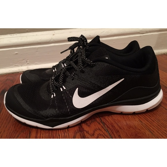 Women's Black Nike Sneakers, Size 9, Like New!